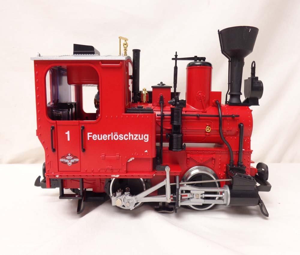ABT: LGB G Scale: Red # 72940 Work Train Set/OB - 9