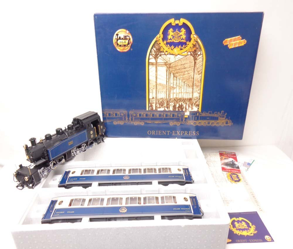 ABT: Mint LGB G Scale: #70685 The Orient Express Train