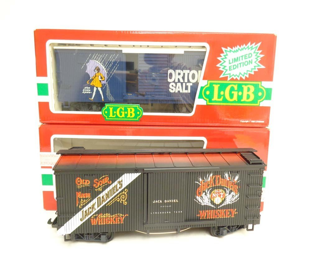 ABT: Mint LGB G Scale: #4067 Jack Daniel Box Car and