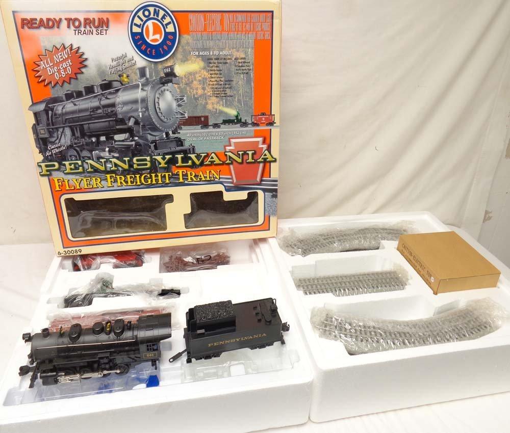 ABT: Lionel #30089 Pennsylvania Flyer Train Set/OB
