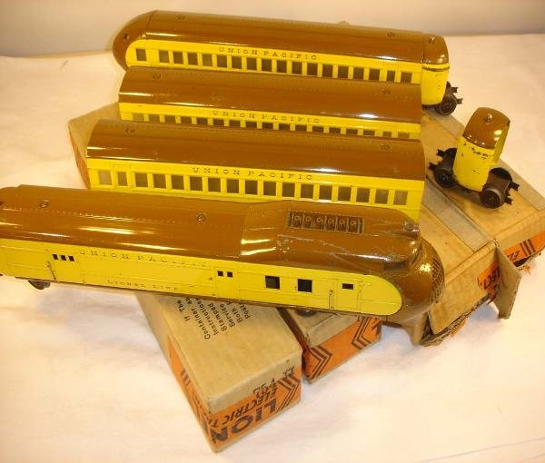 6: ABT: Great Lionel #752E Yellow/Brown City of Portlan