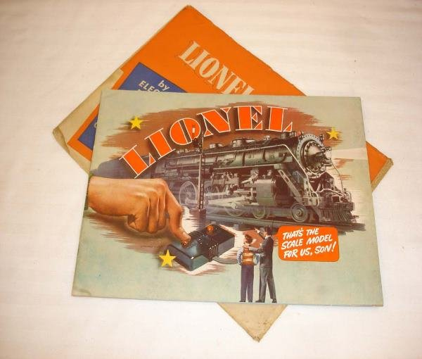 7: ABT: Outstanding Lionel 1940 Catalog w/Mailing Envel