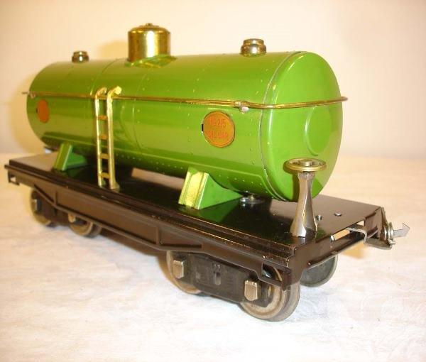12: ABT: Incredible Lionel #215 Pea Green Tank Car