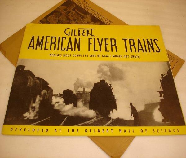 13: ABT: Crisp American Flyer 1940 (D1333) Catalog & Ma