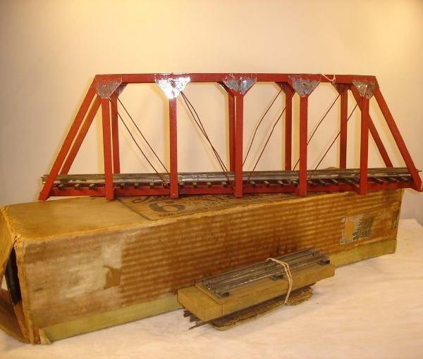 "16: ABT: Scarce American Flyer ""Salt Lake"" Wooden Bridg"