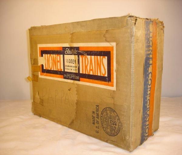 20: ABT: Very Rare Lionel #1835EW Master Carton