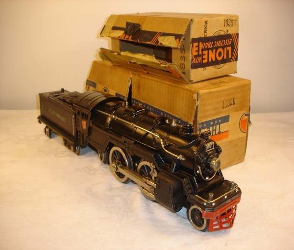 24: ABT: Great Lionel #1835E Black Steam Engine w/#1835