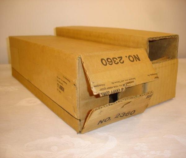 124: ABT: Brick Lionel #2360-10 Tuscan GG-1 5 Stripe Or