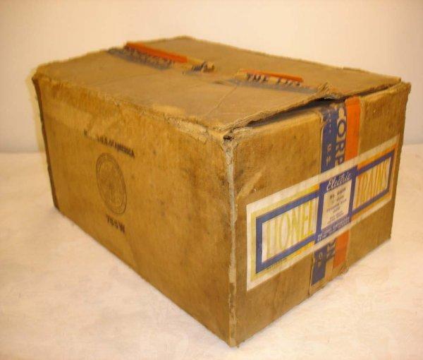 19: ABT: Nice Lionel #846W Irvington 1941 Set Box