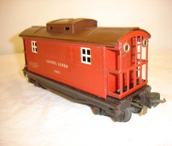 21: ABT: Lionel #2817 Red/Tuscan RS Caboose
