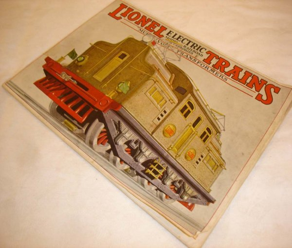 294: ABT: Nice Lionel 1927 Color Consumer Catalog