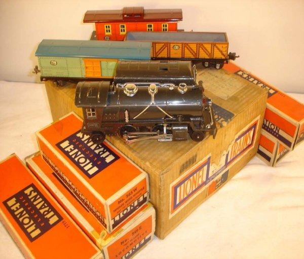 297: ABT: Nice Lionel #249E Freight Set w/Lionel-Ives #
