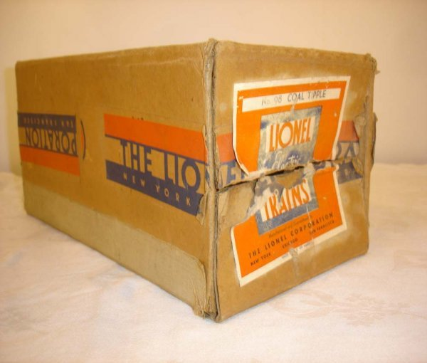 298: ABT: Scarce Lionel #98 Coal Tipple Original Box