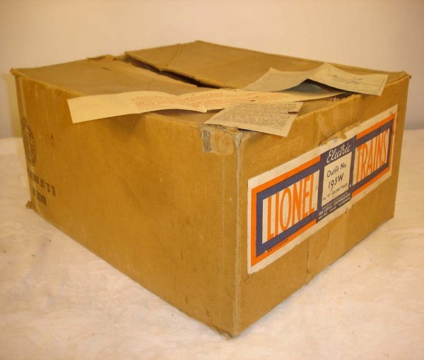 299: ABT: Brick Lionel #195W 1939 263E Freight Set Box