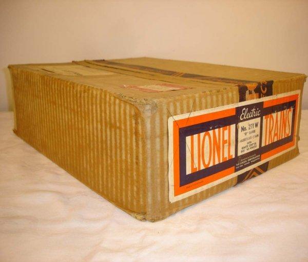 302: ABT: Brick Lionel #291W 1936 Red Comet Box