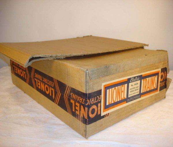 307: ABT: Brick Lionel #440N Signal Bridge Original Box