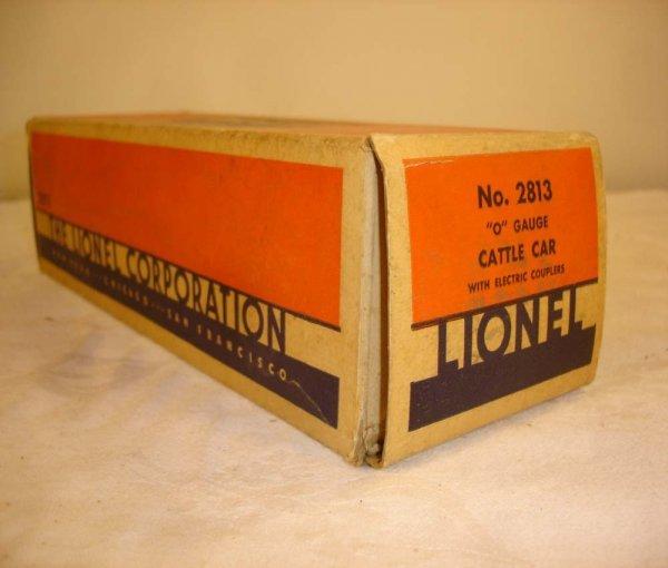 308: ABT: Brick Lionel #2813 Cattle Car Original Box
