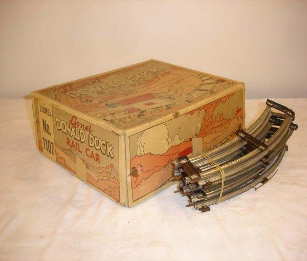 312: ABT: Brick Lionel #1107 Donald Duck Handcar Box
