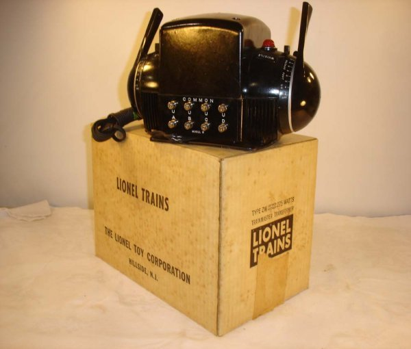 380: ABT: Mint Lionel #ZW 275 Watts Transformer/Rare Wh