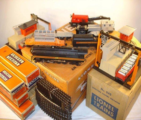 450: ABT: Mint Lionel #2525WS 1958 N&W Massive Freight