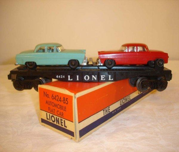 291: ABT: Scarce Lionel #6424-85 Auto Car/Nice OB