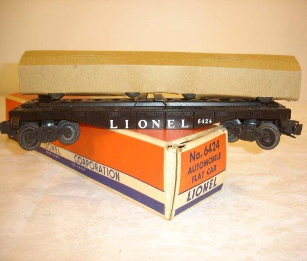 293: ABT: Mint Lionel #6424 Automobile Flat/Brick 58B