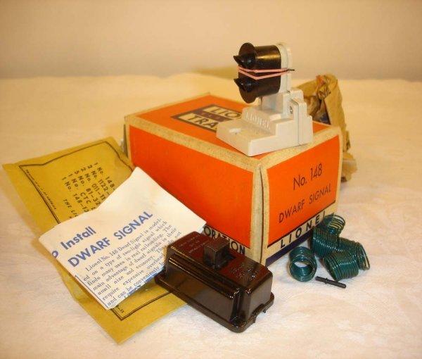 307: ABT: Mint Lionel #148 Dwarf Signal/Brick OB+