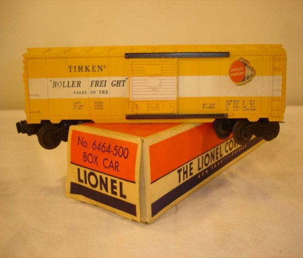 311: ABT: Lionel #6464-500 Painted Yellow Mold/OB