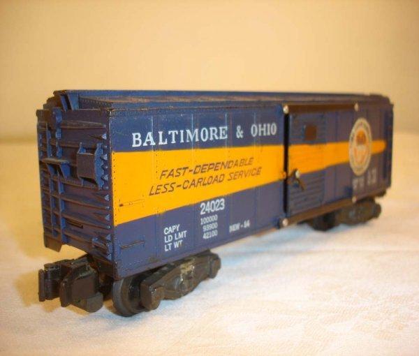 9: ABT: Nice AF #24023 B&O Timesaver Box Car