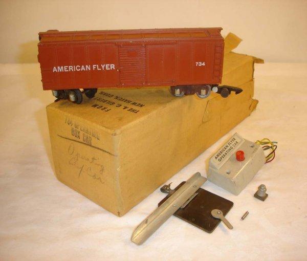 19: ABT: AF #734 Operating Box Car/ Brick OB+