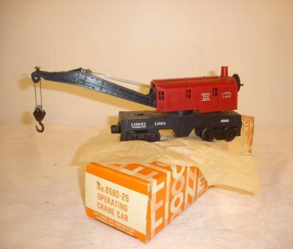 132: ABT: Mint Lionel #6560-25 Hagerstown Crane/1969 OB