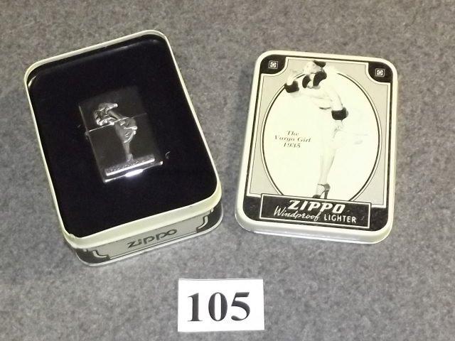 1935 VARGA GIRL ZIPPO COLLECTORS LIGHTER