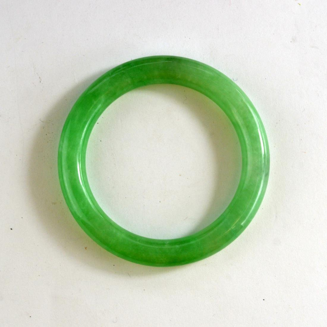 Jadeite Bangle Bracelet