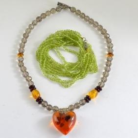 2 Necklace Set