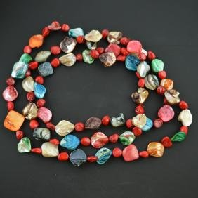 Color Shell Necklace