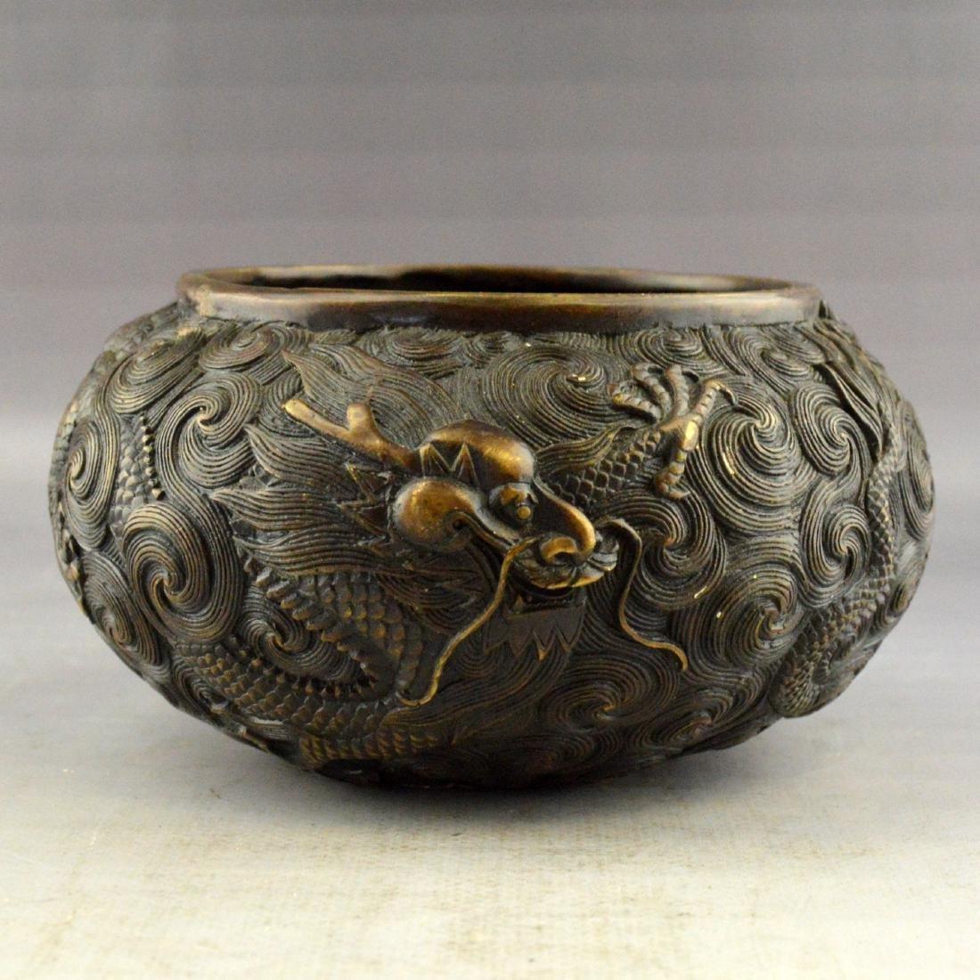 Copper Dragon Censer