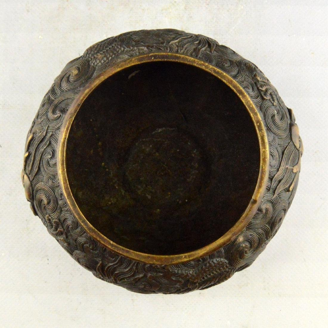Copper Dragon Censer - 5