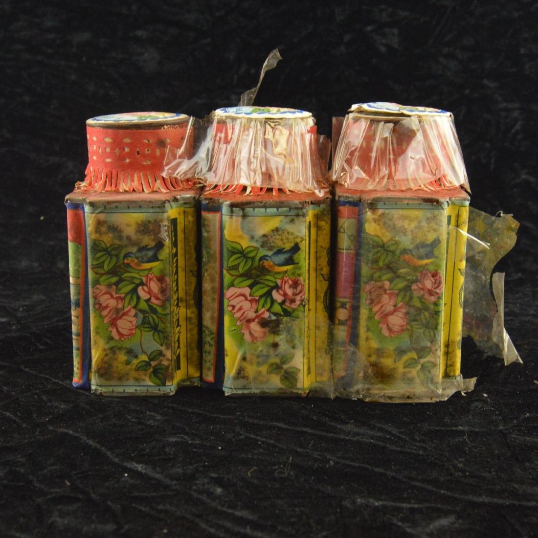 Three Chinese Republican Tea Tins - 2