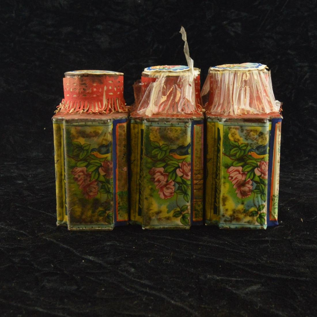 Three Chinese Republican Tea Tins - 4