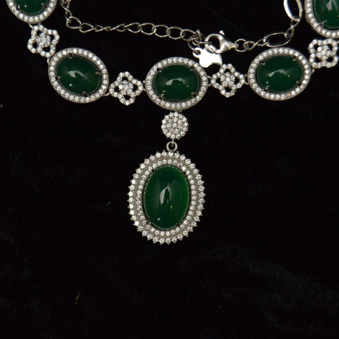 Green Agate Necklace - 2