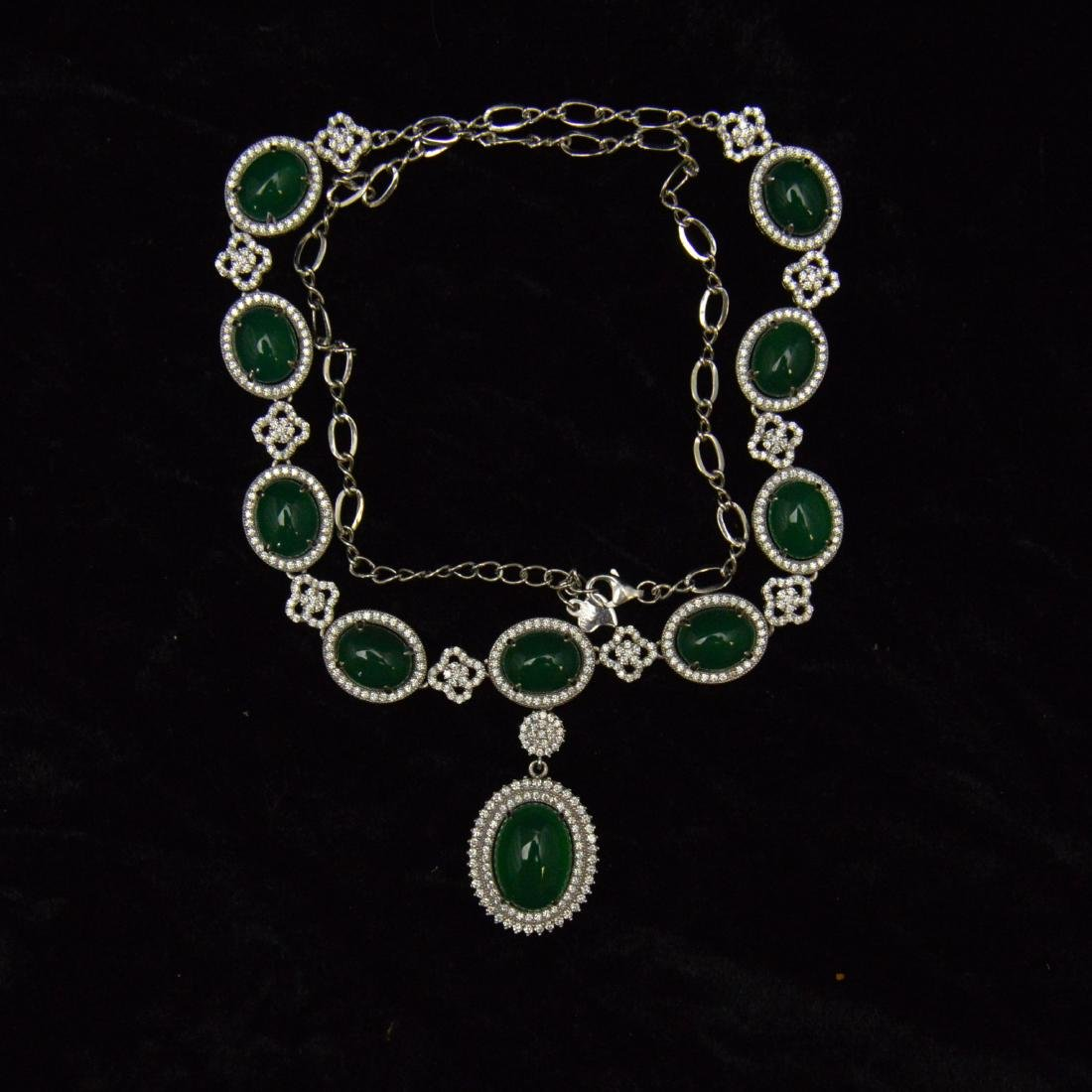 Green Agate Necklace - 4