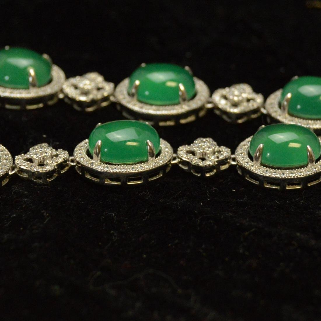 Green Agate Necklace - 6