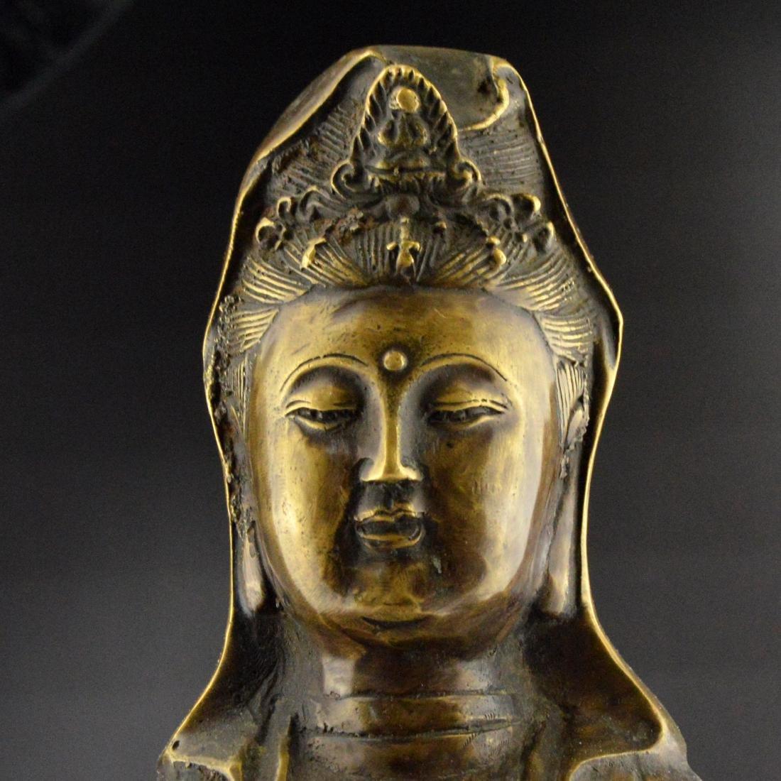 Bronze Guanyin Statue - 5