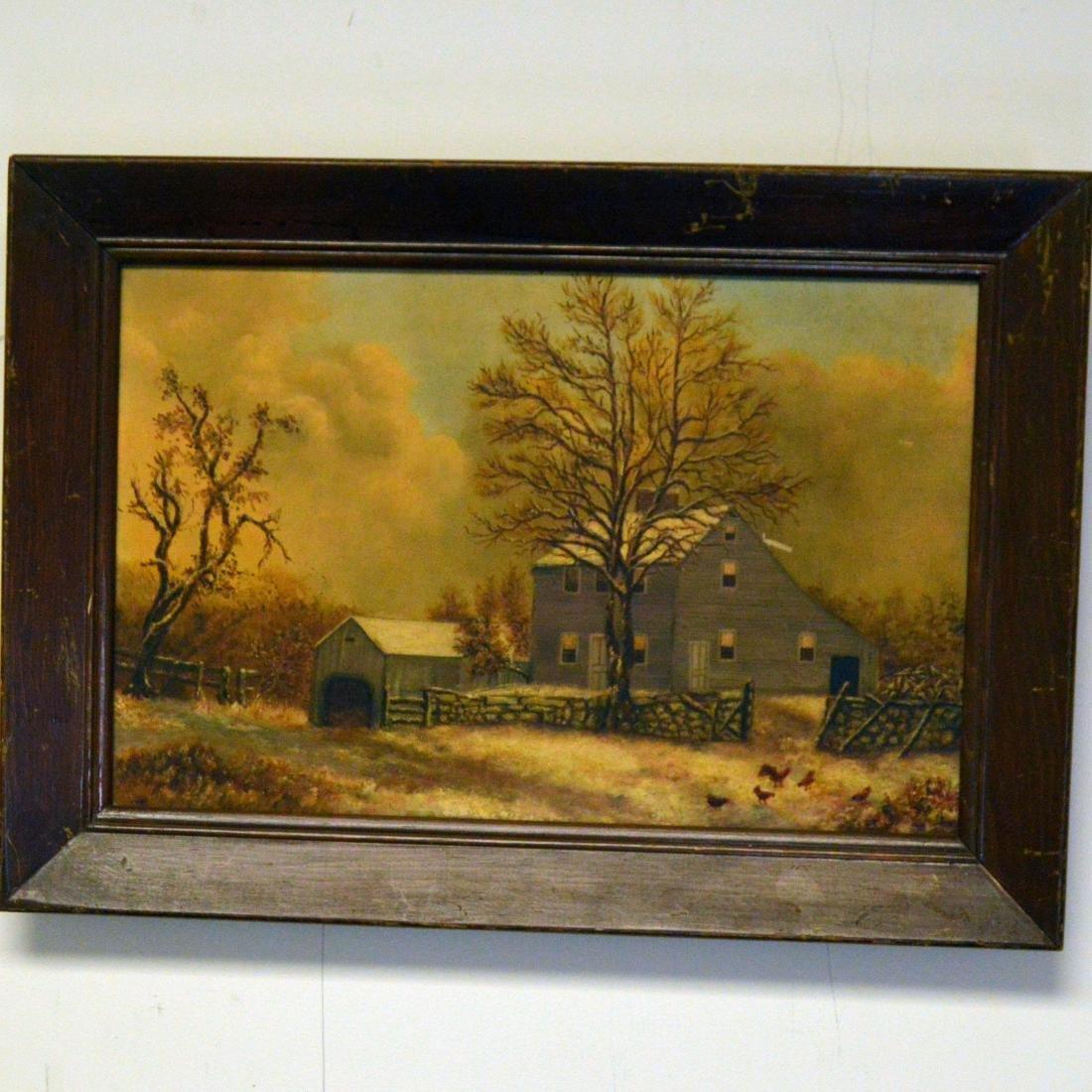 Old Framed Oil Painting