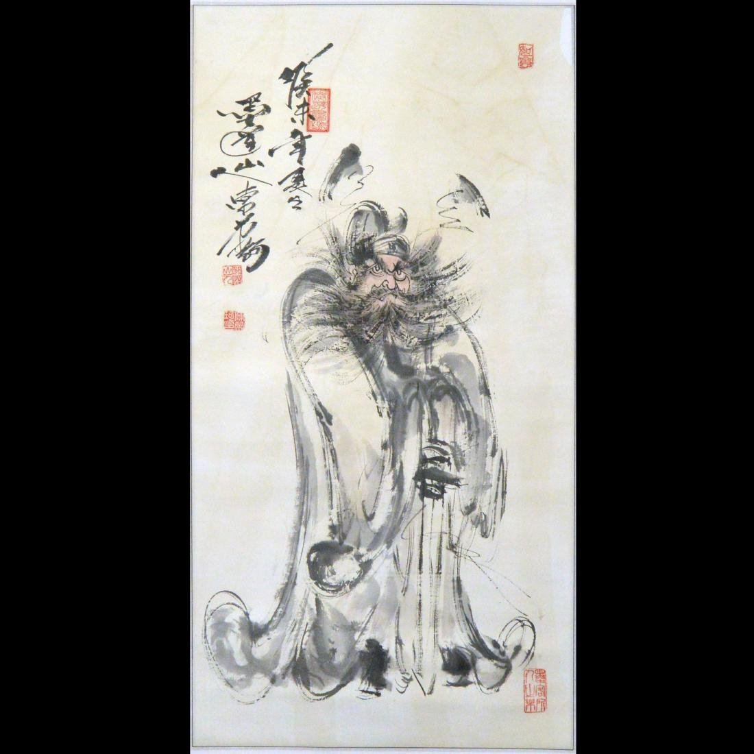 Zhongkui Ink Painting