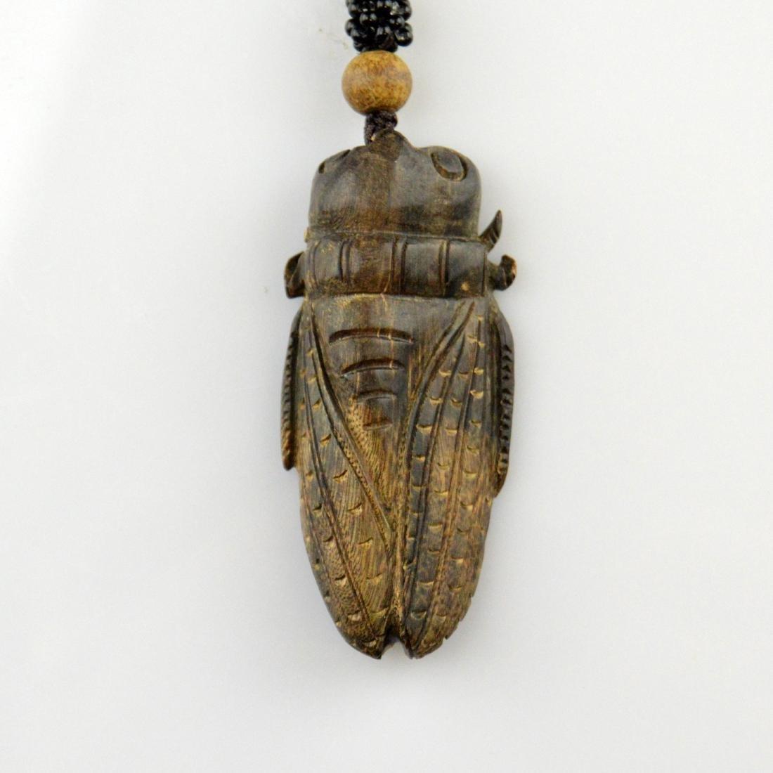 Chenxiang Cicada Pendant - 2