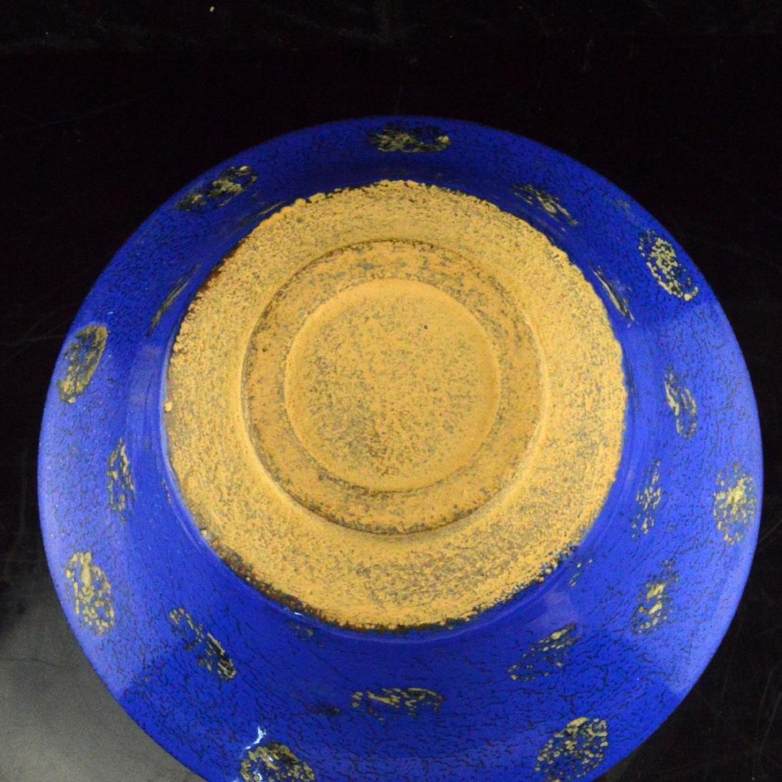 Blue Glazed Bowl - 3