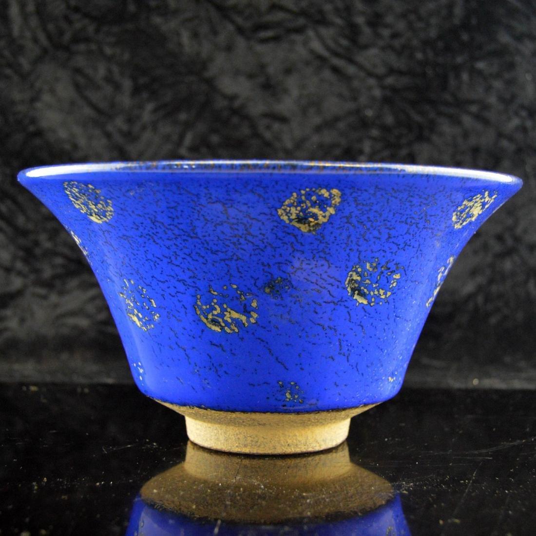 Blue Glazed Bowl - 5