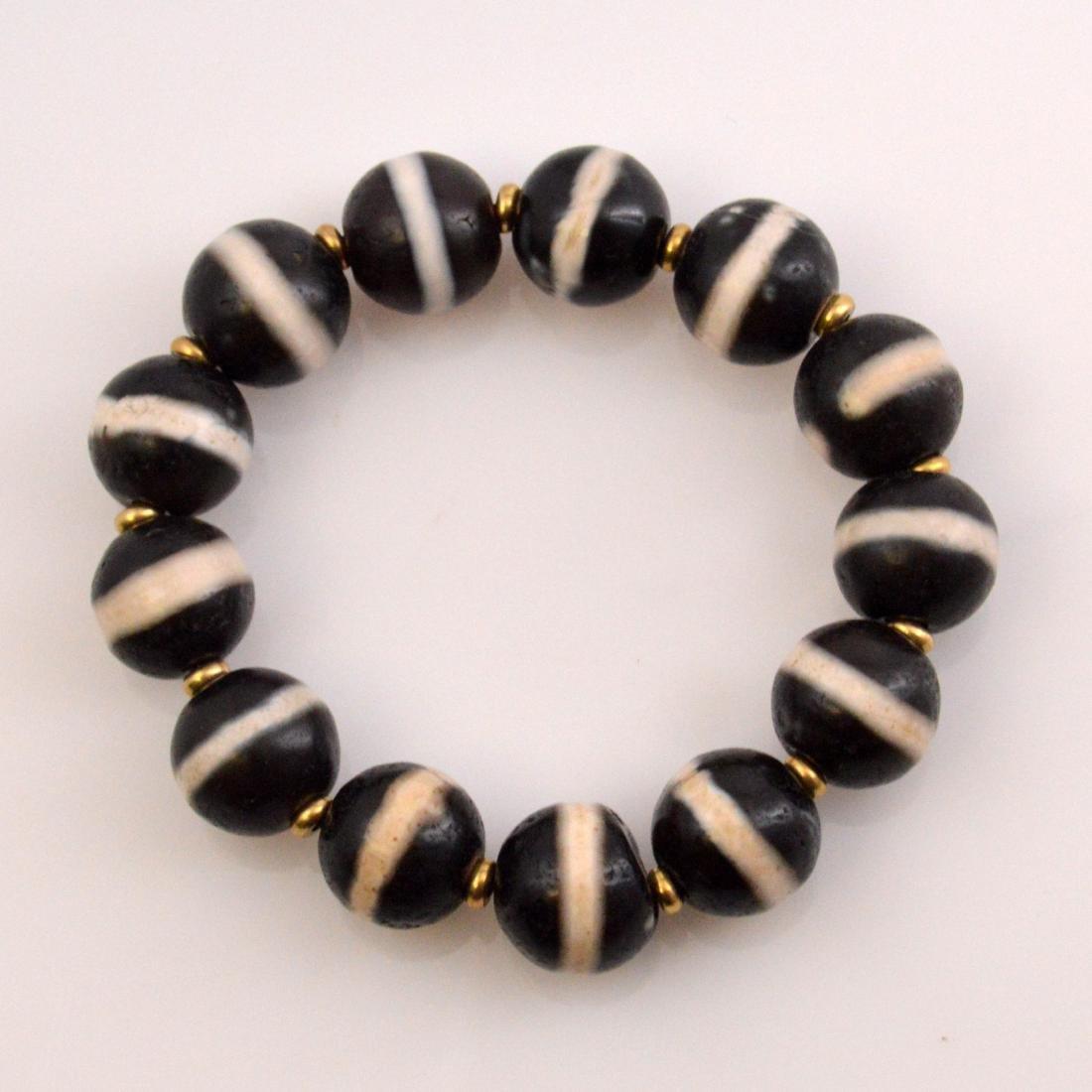 Old Medicine Bead Bracelet