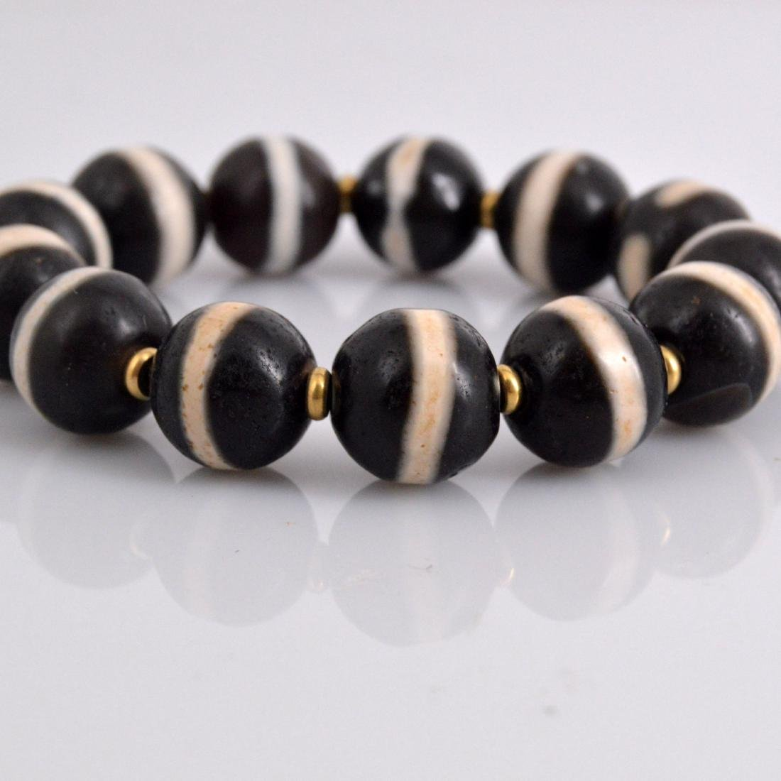 Old Medicine Bead Bracelet - 3